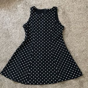 90s vintage polka dot dress